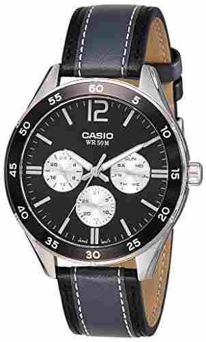 Casio Enticer MTP-E310L-1A1VDF (A1178) Analog Black Dial Men's Watch (MTP-E310L-1A1VDF (A1178))