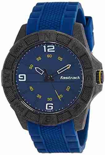Fastrack 38032PP01J Analog Blue Dial Men's Watch (38032PP01J)