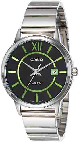 Casio Enticer MTP-E134D-1BVDF (A1198) Analog Black Dial Men's Watch (MTP-E134D-1BVDF (A1198))