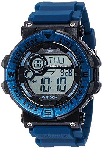 Sonata NK77061PP03 SF Black Digital Men's Watch (NK77061PP03 SF)