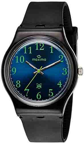 Maxima 39050PPGW Analog Blue Dial Men's Watch (39050PPGW)