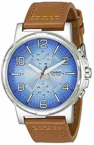 Casio Enticer MTP-E313L-2B2VDF (A1215) Analog Blue Dial Men's Watch (MTP-E313L-2B2VDF (A1215))