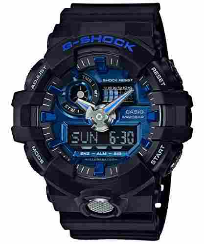 Casio G-Shock GA-710-1A2DR (G739) Analog Digital Blue Dial Men's Watch (GA-710-1A2DR (G739))