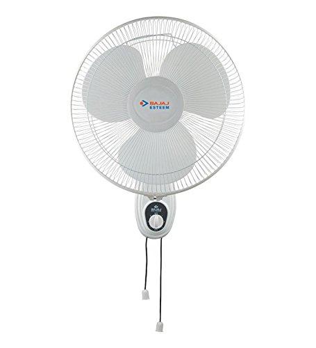 Bajaj Esteem 400 mm Wall Fan (White)