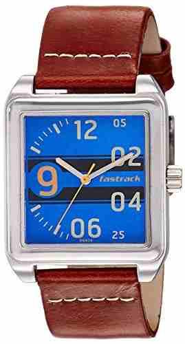 Fastrack 3164SL03 Analog Blue Dial Men's Watch (3164SL03)