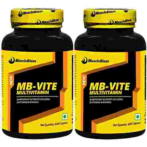 Muscleblaze Mb-Vite Multivitamin, 120 Tablets