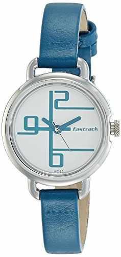 Fastrack 6123SL01 Analog White Dial Women's Watch