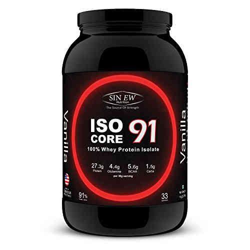 Sinew Nutrition Iso Core 91 Protein (1Kg, Vanilla)