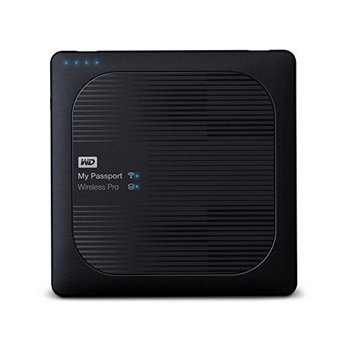 WD WDBVPL0010BBK My Passport Wireless Pro 1TB Hard Drive Black