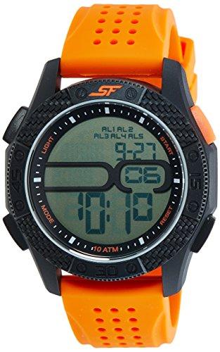 Sonata 77057PP04 Grey Dial Digital Men's Watch (77057PP04)
