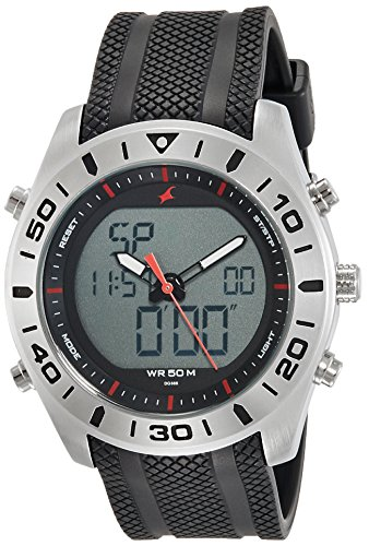Fastrack NK38034SP03 Grey Dial Analog Men's Watch (NK38034SP03)