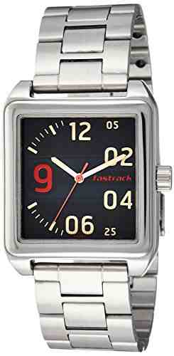 Fastrack 3164SM01 Bare Basics Analog Men's Watch (3164SM01)