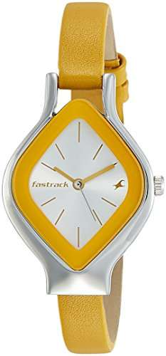 Fastrack NG6109SL01 Animal Instinct Analog Women's Watch (NG6109SL01)