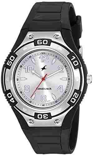 Fastrack NG9333PP01CJ Quartz Silver Round Men's Watch (NG9333PP01CJ)