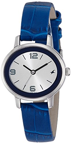 Fastrack NK6107SL01 Silver Dial Analog Watch For Women (NK6107SL01)