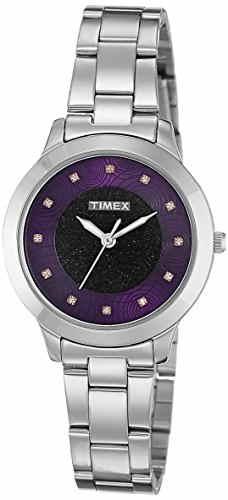 Timex TW000T614 Analog Purple Dial Women's Watch (TW000T614)