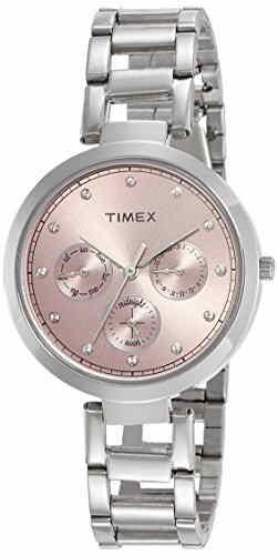 Timex TW000X212 Analog Pink Dial Women's Watch (TW000X212)