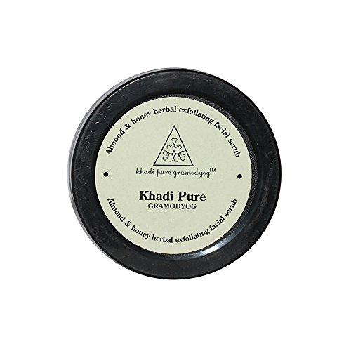 Khadi Pure Herbal Almond Honey Exfoliating Facial Scrub For Unisex, 50 GM