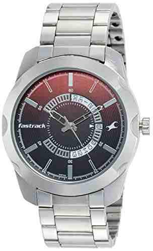 Fastrack 3123SM03 Analog Black Dial Men's Watch (3123SM03)