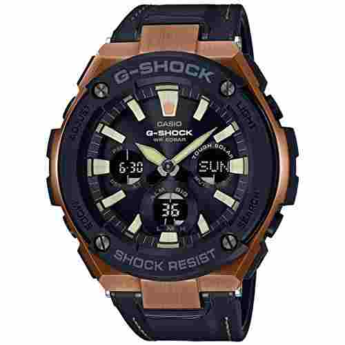 Casio G-Shock G735 (GST-S120L-1ADR) Analog Digital Black Dial Men's Watch (G735 (GST-S120L-1ADR))
