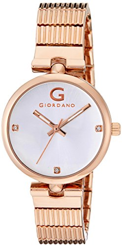 Giordano A2058-33 Silver Dial Analog Women's Watch (A2058-33)