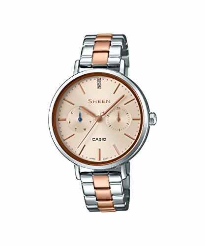Casio SX198 (SHE-3054SPG-4AUDR) Analog Rose Gold Dial Women's Watch (SX198 (SHE-3054SPG-4AUDR))