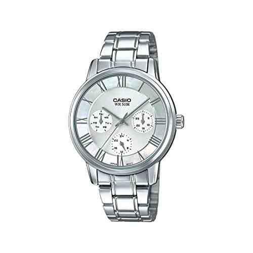 Casio Enticer A1245 (LTP-E315D-7AVDF) Analog Silver Dial Women's Watch (A1245 (LTP-E315D-7AVDF))