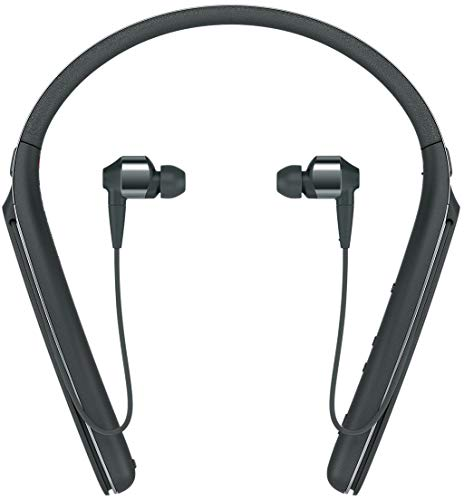 Sony WI-1000X Premium Wireless Noise Cancelling Neck Band In Ear Headphones, Black