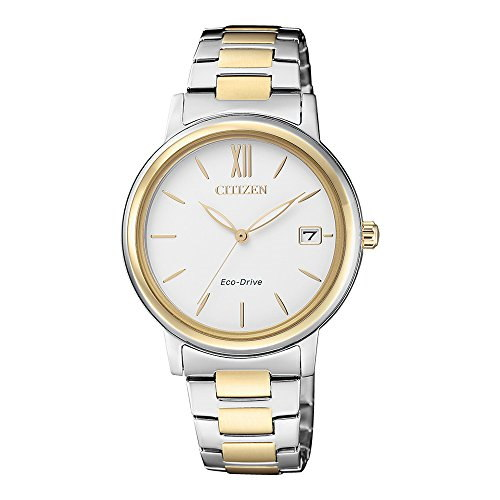 Citizen FE6094-84A Analog White Dial Women's Watch (FE6094-84A)