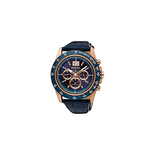 Seiko SPC238P1 Blue Chronograph Analogue Men's Watch (SPC238P1)