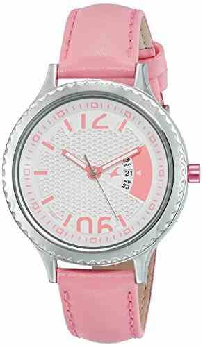 Fastrack 6168SL01 Loopholes Analog Silver Dial Women's Watch (6168SL01)