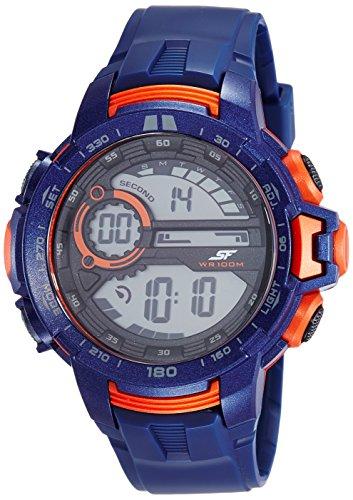 Sonata 77074PP03 Fibre Grey Dial Digital Men's Watch (77074PP03)