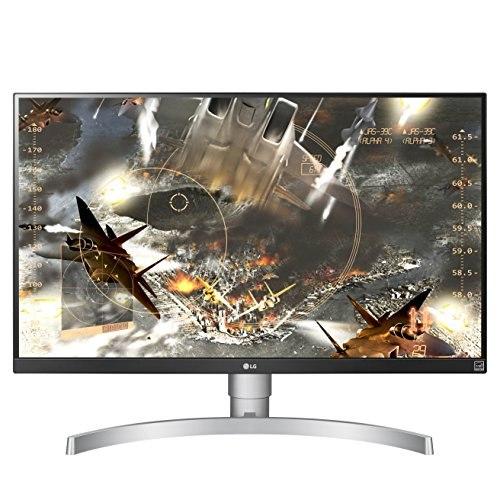 LG 27UK650-W 27 Inch Class 4K UHD IPS LED Monitor