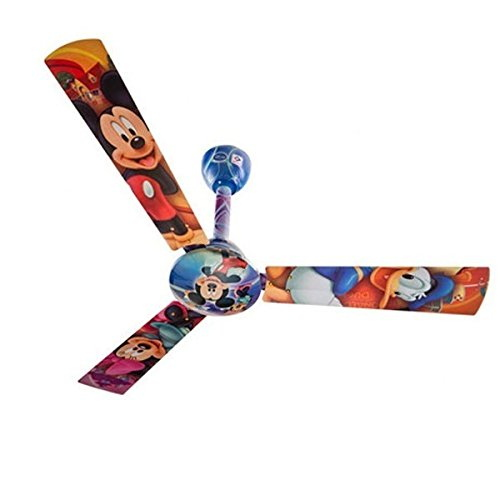 Bajaj Disney Minnie Mouse 1200 mm Electrical Ceiling Fan (Multicolor)