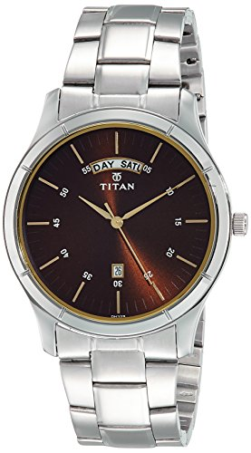 Titan Neo 1767SM03 Brown Dial Analog Men's Watch (1767SM03)