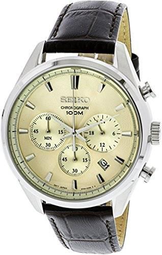 Seiko SSB293P1 Chronograph Cream Dial Men's Watch (SSB293P1)