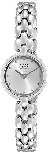 Titan NK2444SM04 Silver Dial Analog Women's Watch (NK2444SM04)