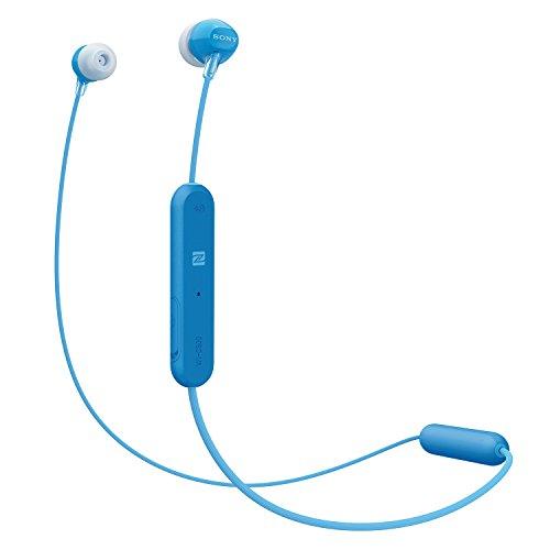 Sony WI-C300 Wireless In Ear Headphones, Blue