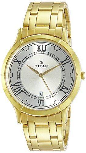 Titan Karishma 1775YM01 Champagne Dial Analog Watch (1775YM01)