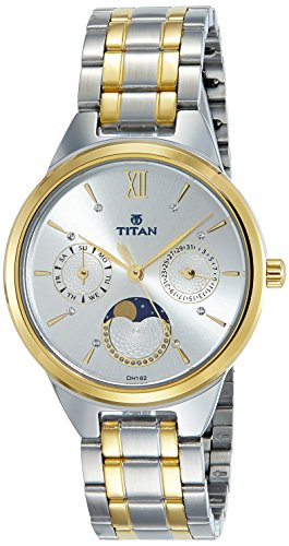 Titan Neo 2590BM01 Silver Dial Analog Women's Watch (2590BM01)