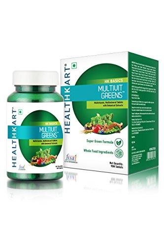 HealthKart Multivit Greens, 90 Tablets
