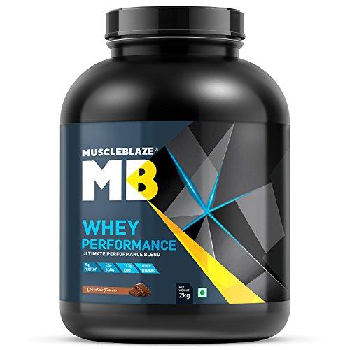 MuscleBlaze Whey Performance Protein (2Kg, Chocolate)