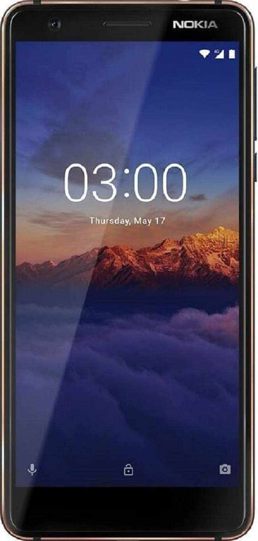 Nokia 3.1 (Nokia 1070) 16GB 2GB RAM Blue Mobile