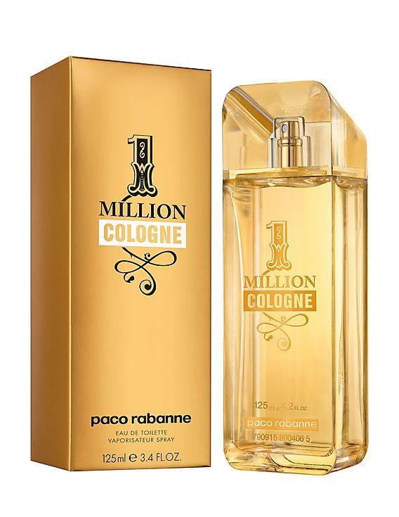Paco Rabanne 1 Million Cologne EDT Spray For Men 125 ml