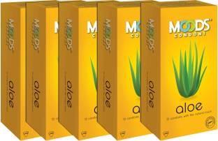 Moods Aloe Combo Condoms (60 Condoms)