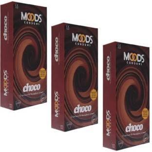 Moods Choco Condoms (36 Condoms)
