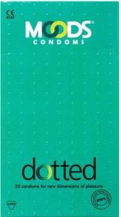 Moods Dotted Condoms (120 Condoms)