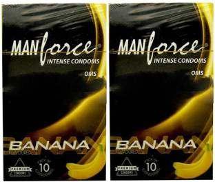 Manforce Banana Condoms (20 Condoms)