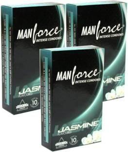 Manforce Jasmine Condoms (30 Condoms)