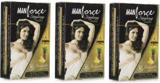 Manforce Staylong Pineapple Condom (30 Condoms)